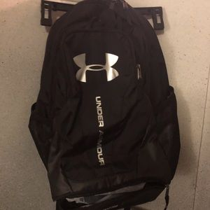 Under Armour Backpack Black silver details